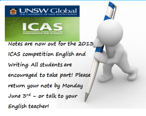 UNSW ICAS English Competitions
