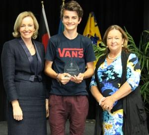 Isaiah Lane, recipient of a Aboriginal and Torres Strait Islander Student Scholarship.