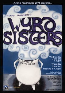 Wyrd Sisters poster