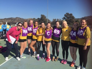 Senior Girls Netball Team 2015